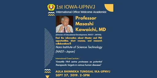 KUI-UPNVJ INTERNATIONAL GUEST LECTURE