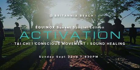 Sunset Equinox - Tai Chi Meditation & Sound Healing Experience tickets