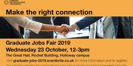 Graduate Jobs Fair tickets