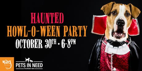 6th Annual Haunted Howl-o-ween Party for Dogs at Wag Hotels Redwood City tickets