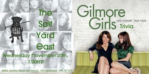 Gilmore Girls Trivia at The Salt Yard East