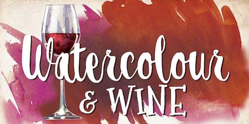 Watercolour & Wine!