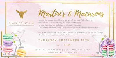 Macarons & Martinis Fall Fashion Party