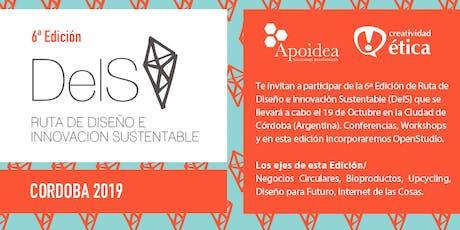 6° Ruta Diseño e Innovación Sustentable (DeIS) Edición Córdoba  tickets