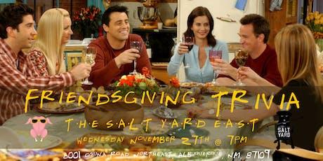 Friendsgiving Trivia at The Salt Yard East tickets