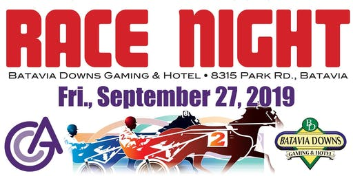 Genesee Cancer Assistance Race Night 2019