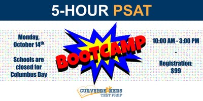 PSAT Bootcamp on October 14th
