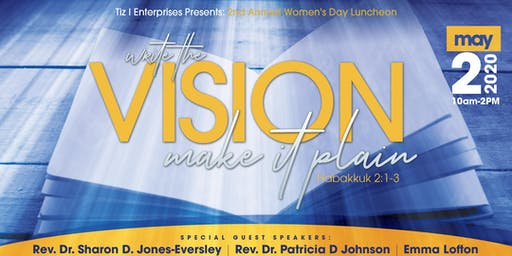 Tiz I Enterprises Presents:  2nd Annual Women's Day Luncheon