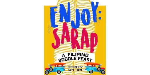 ENJOY: Sarap - A Filipino Boodle Feast