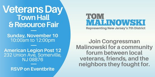 Veterans Day Town Hall and Resource Fair