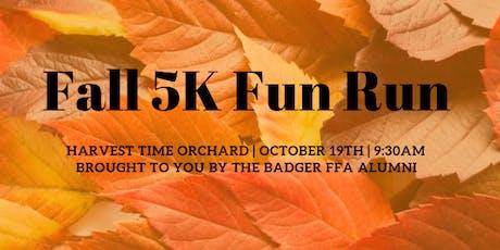 Fall 5K Fun Run tickets