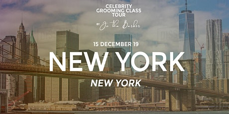 NEW YORK, NY - Celebrity Grooming Class by JC Tha Barber tickets
