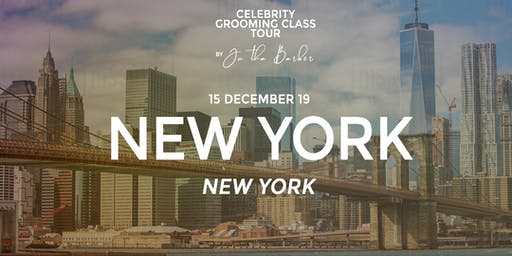NEW YORK, NY - Celebrity Grooming Class by JC Tha Barber