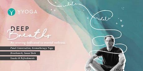 Deep Breaths: A Mindful Conversation tickets