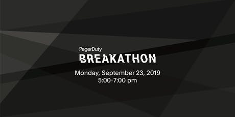 Breakathon at PagerDuty Summit19 tickets