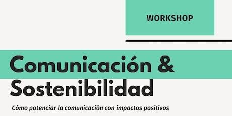 Workshop  Comunicación & Sostenibilidad entradas