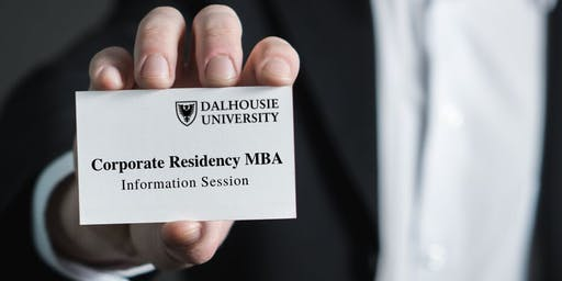 Dalhousie University Corporate Residency MBA Information Session