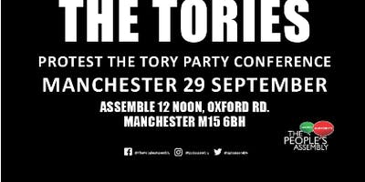 Demonstrate Against the Tories Coach To Manchester