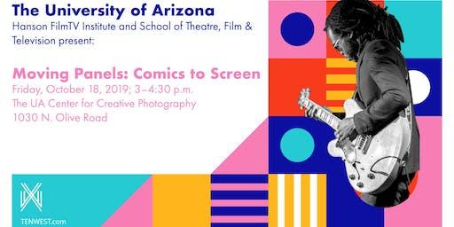 Moving Panels: Comics to Screen