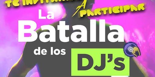 BATALLA DE DJ'S - ESTUDIANTINA 2019 - SALADAS