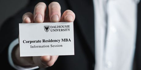 Dalhousie University Corporate Residency MBA Information Session tickets