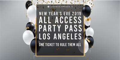 Joonbug.com  Presents The All Access Party Pass LA NYE Party Pass