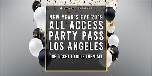 Joonbug.com  Presents The All Access Party Pass LA NYE Party Pass