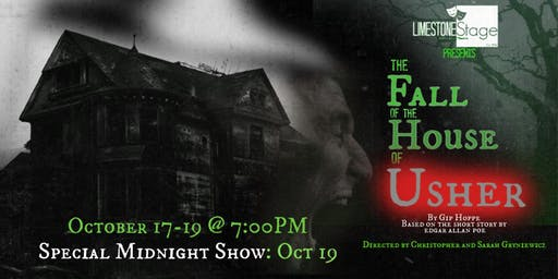 Limestone Stage Presents: The Fall of the House of Usher (7:00 PM Shows)