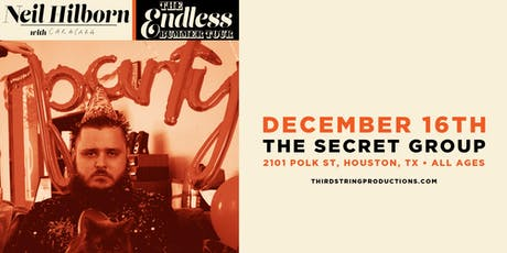 The Endless Bummer Tour featuring Neil Hilborn & Special Guests tickets