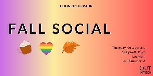Out in Tech BOS | Fall Social at LogMeIn