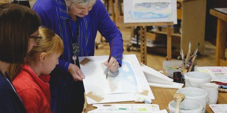 Watercolour workshops with Gillian Burrows-UNITY Arts Festival tickets