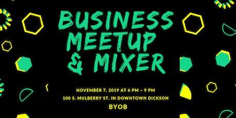 Middle TN Business Meetup & Mixer tickets