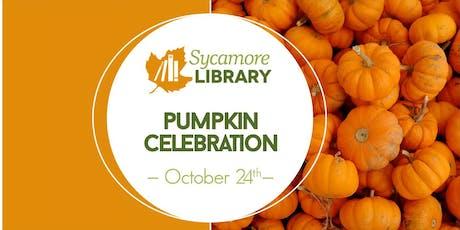 Sycamore Library Pumpkin Celebration  tickets