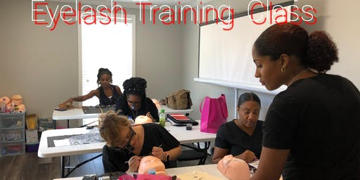 Eyelash  Extension  Training Certification for $999! Atlanta, Ga Sunday & Monday , October 27th & 28th, 2019!