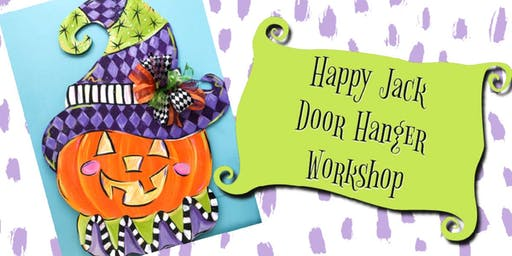 ArtDaze Happy Jack Door Hanger Workshop