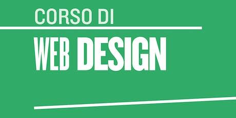 Corso di Web Design a Nola biglietti