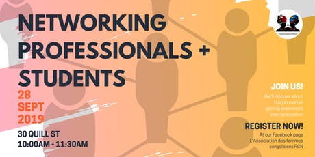 Students and Professionals Networking Session billets