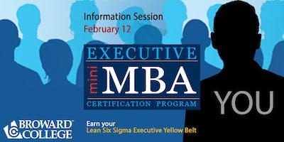Executive Mini MBA Information Session