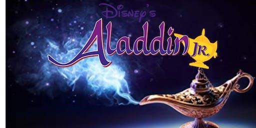 Aladdin Jr- Saturday, Nov 23 2pm