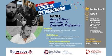 Arte y Cultura: Un Camino de Desarrollo Profesional entradas