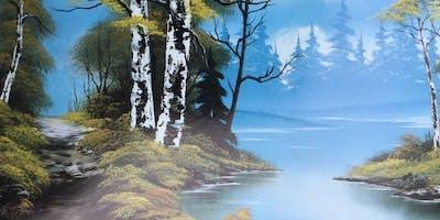 Bob Ross Paint Night, Blue River