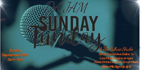 DA JAM Sunday Funday Open Mic tickets