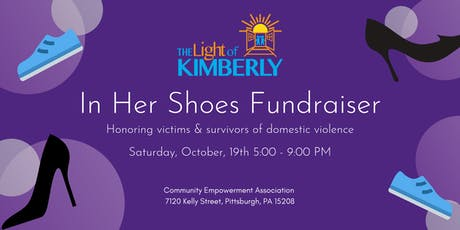 2019 First Annual In Her Shoes Fundraiser, by The Light of Kimberly tickets