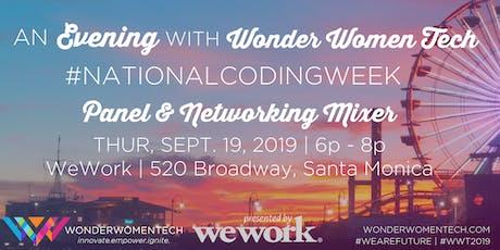An Evening with Wonder Women Tech tickets