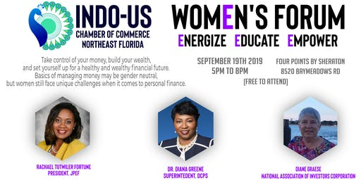 Women's Forum 2019 - Take control of your money, build your wealth, and set yourself up for a healthy and wealthy financial future.
