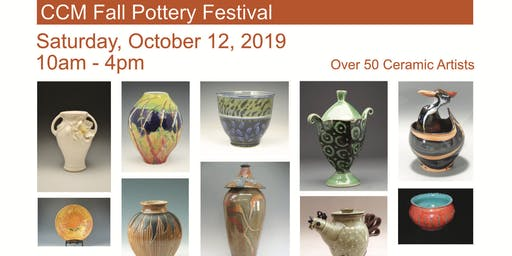 Carolina Claymatters Potters Guild Fall Sale