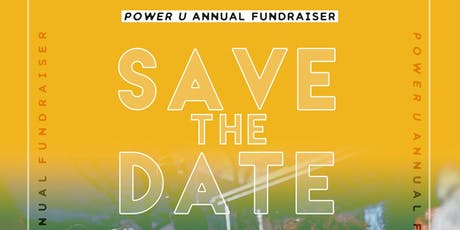 Young People, Big Dreams. Power U Annual Fundraiser Soiree tickets