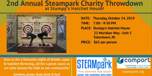 STEAMpark's 2nd Annual Charity Throwdown!