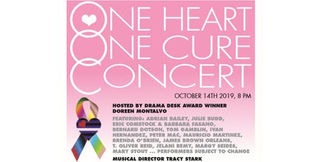 One Heart. One Cure.  Cancer Benefit Concert tickets