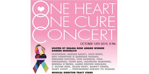 One Heart. One Cure.  Cancer Benefit Concert